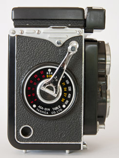 yashica mat serial number
